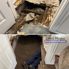 Crawl Space Repair / Floor Leveling