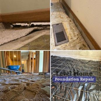 Interior Concrete Slab Repair